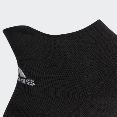 Training Black Alphaskin Ultralight Ankle Socks 2 Pairs