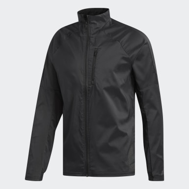 Men Running Black Supernova Confident Three Season Jacket