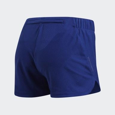 Shorts Ultra Knit Azul Mujer Running