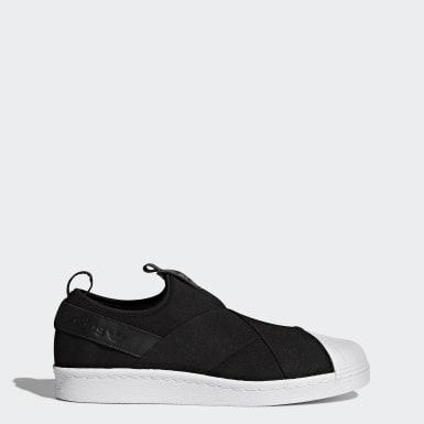 Erkek Originals Siyah Superstar Slip-on Ayakkabı