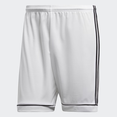 Men Football White Squadra 17 Shorts