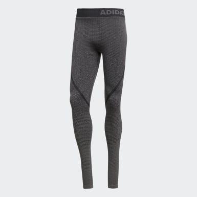 Leggings Sem Costuras Alphaskin 360 Cinzento Homem Ioga