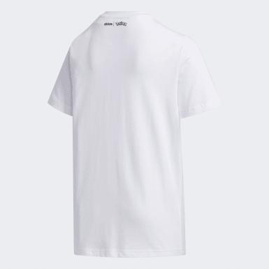 Genç Sport Inspired Beyaz Pokémon Tişört