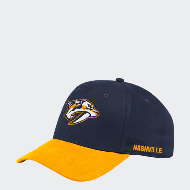 Men's Hockey Multicolor Predators Coach Structured Flex Hat