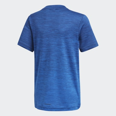 T-shirt AEROREADY Gradient bleu Adolescents Entraînement