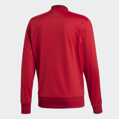 Men Training Red Condivo 18 Track Top