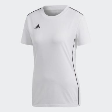CORE18 JSY W Branco Mulher Futebol