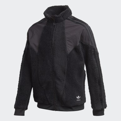 Track Top Polar Fleece noir Adolescents Originals