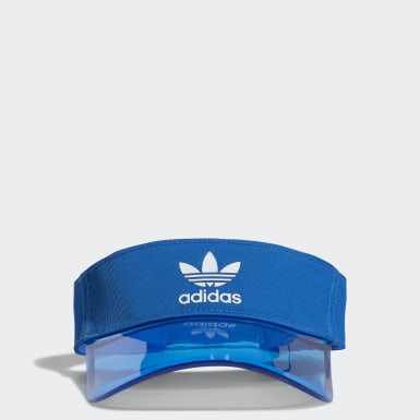 Originals Blue Clear-Brim Visor