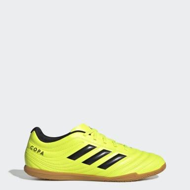 Mænd Fodbold Gul Copa 19.4 Indoor støvler