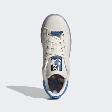 Kids Originals White Stan Smith Star Wars Shoes