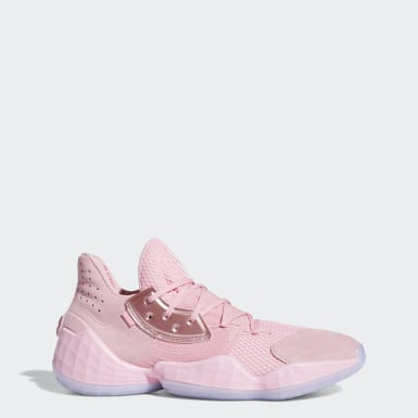 Men's Basketball Pink Harden Vol. 4 Shoes