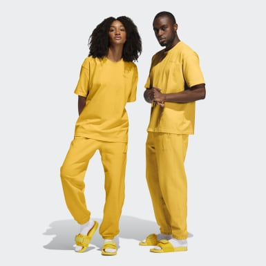 Originals Yellow Pharrell Williams Basics Sweat Pants (Gender Neutral)