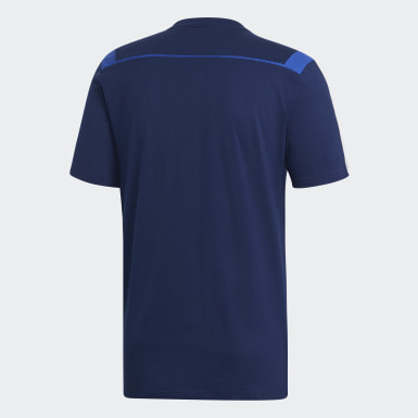 Männer Training Tiro 19 T-Shirt Blau