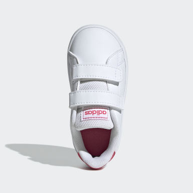 Girls Livsstil Vit Advantage Shoes