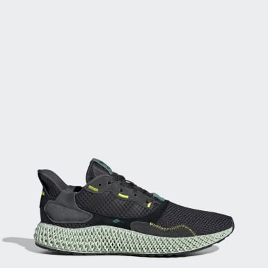 Originals Grey ZX 4000 4D Shoes