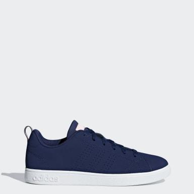 Women Sport Inspired Blue VS Advantage Shoes