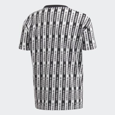 Camiseta Allover Print Branco Meninos Originals