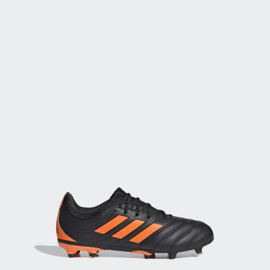 Boys Football Black Copa 20.3 Firm Ground Boots