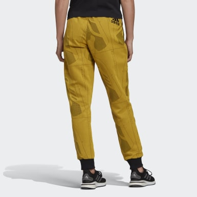 Women Athletics Yellow Footwear Upper Joggers
