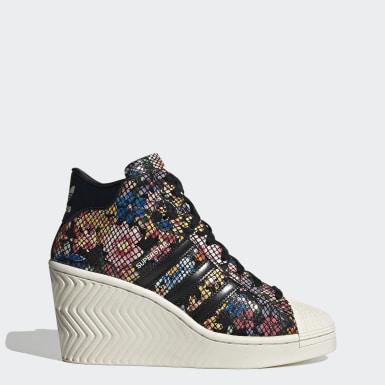 Kvinder Originals Sort Superstar Ellure sko