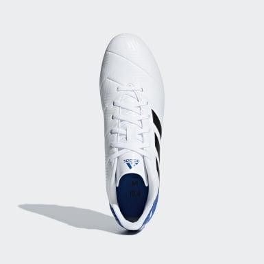 Calzado de fútbol Nemeziz Messi 18.4 Múltiples Terrenos Blanco Hombre Fútbol
