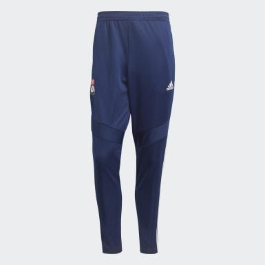 Men Football Blue Olympique Lyonnais Training Pants