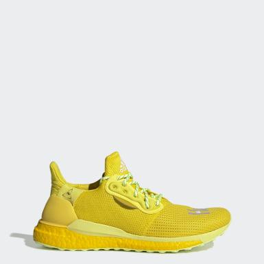 Originals Yellow Pharrell Williams x adidas Solar Hu Shoes