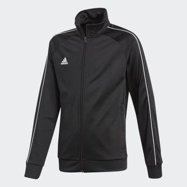 Kids Training Black Core 18 Track Top