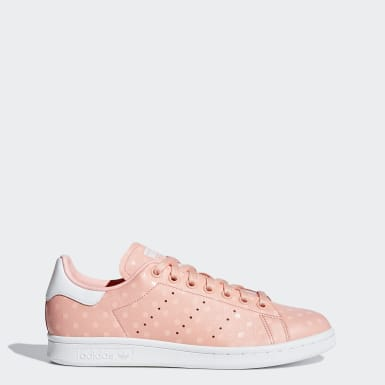 Women Originals Pink Stan Smith Shoes