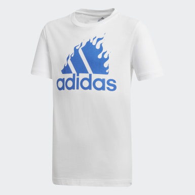 белый Футболка для фитнеса Graphic