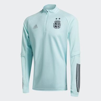 Buzo Entrenamiento Argentina Turquesa Hombre Fútbol