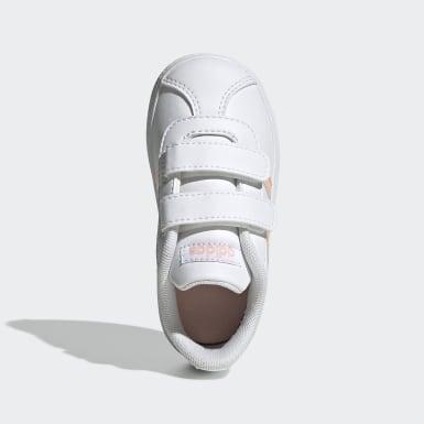 Bebek Sport Inspired White VL Court 2.0 Ayakkabı