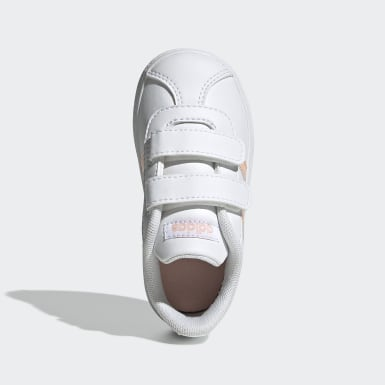Infant Sport Inspired White VL Court 2.0 Shoes