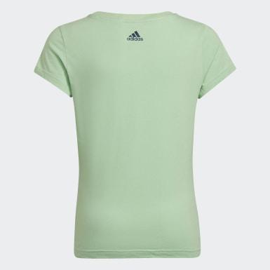 Camiseta Badge of Sport Verde Niña Athletics
