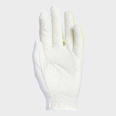 Men Golf White Powergrip Glove