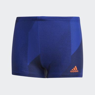 синий Плавки-боксеры Boys Graphic