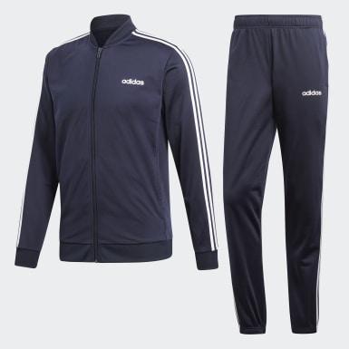 Muži Athletics modrá Sportovní souprava 3-Stripes