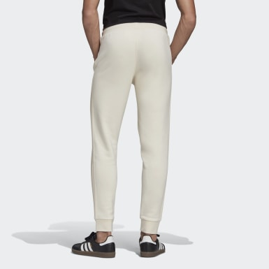 Pants Adicolor 3 Franjas No-Dye Blanco Hombre Originals