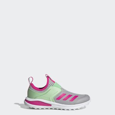 Children Running Grey ActiveRide Shoes