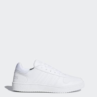 белый Баскетбольные кроссовки Hoops 2.0