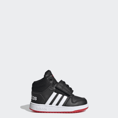 Infant & Toddler Essentials Black Hoops 2.0 Mid Shoes