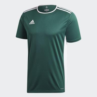 Camiseta Entrada18 Verde Hombre Fútbol
