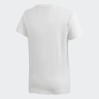 เด็ก Originals สีขาว เสื้อยืดทรงสลิม