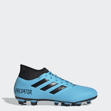 Men Football Turquoise Predator 19.4 S Flexible Ground Boots
