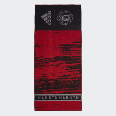 Swimming Black Manchester United Cotton Towel