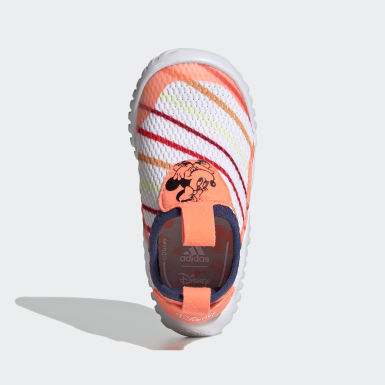 Kids Running White RapidaZen Sum Minnie Mouse Shoes