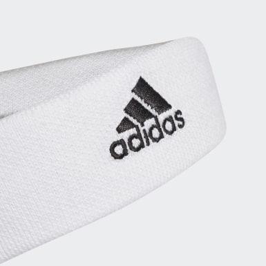 Banda para la Cabeza de Tenis Blanco Tenis