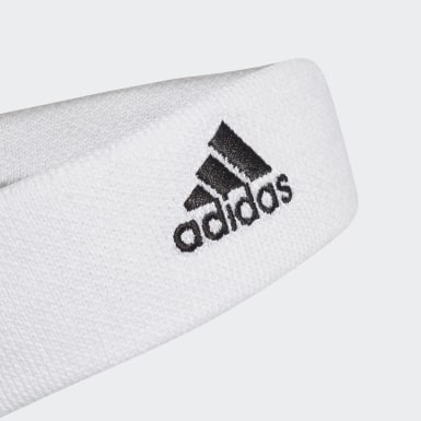 Field Hockey White Tennis Headband