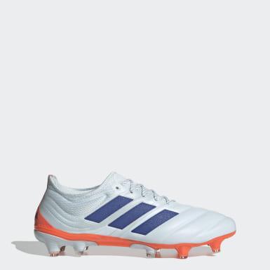 Men Football Blue Copa 20.1 Firm Ground Boots